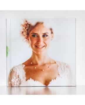 Silverbook 20x20cm mit Fotoeinband