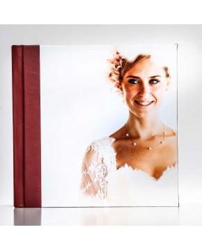 Silverbook 20x20cm mit Leder-Optik