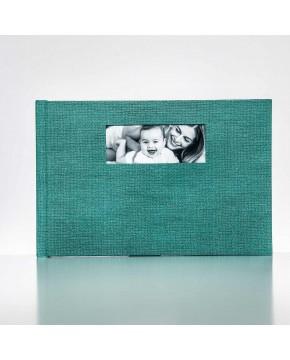 Silverbook 30x20cm mit Querformat Fenster