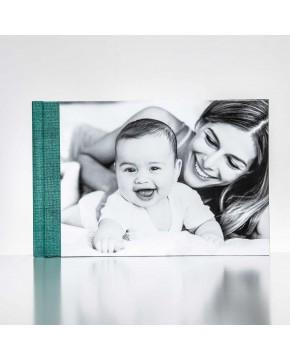Silverbook 30x20cm mit Leder-Optik