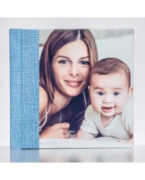 Silverbook 15x15cm mit Leder-Optik
