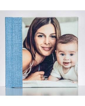 Silverbook 15x15cm mit Canvas