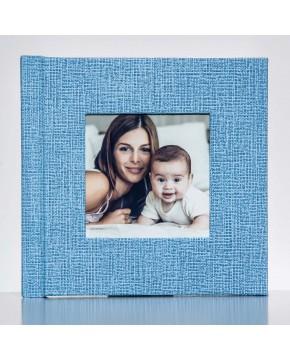Silverbook 15x15cm mit Quadratischem Fenster