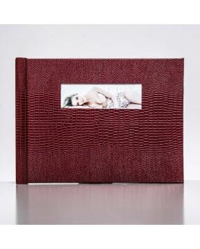 Silverbook 20x15cm mit Querformat Fenster