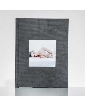 Silverbook 22,5x30cm mit Quadratischem Fenster